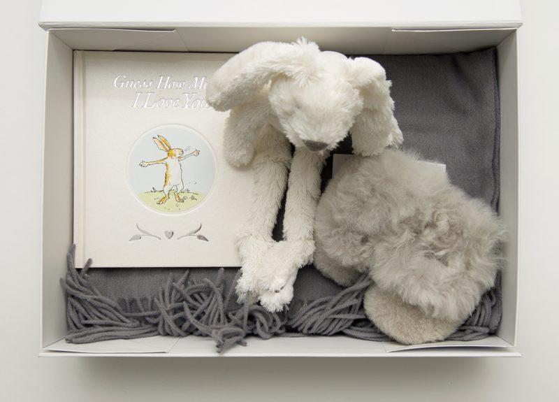 Oh Baby White Box Company gift box