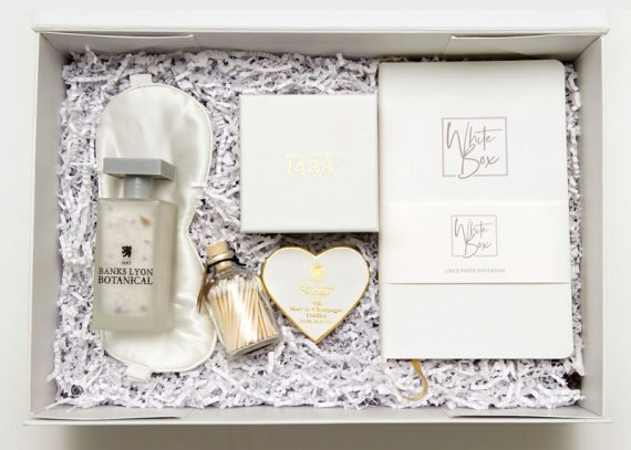wedding bells gift box package